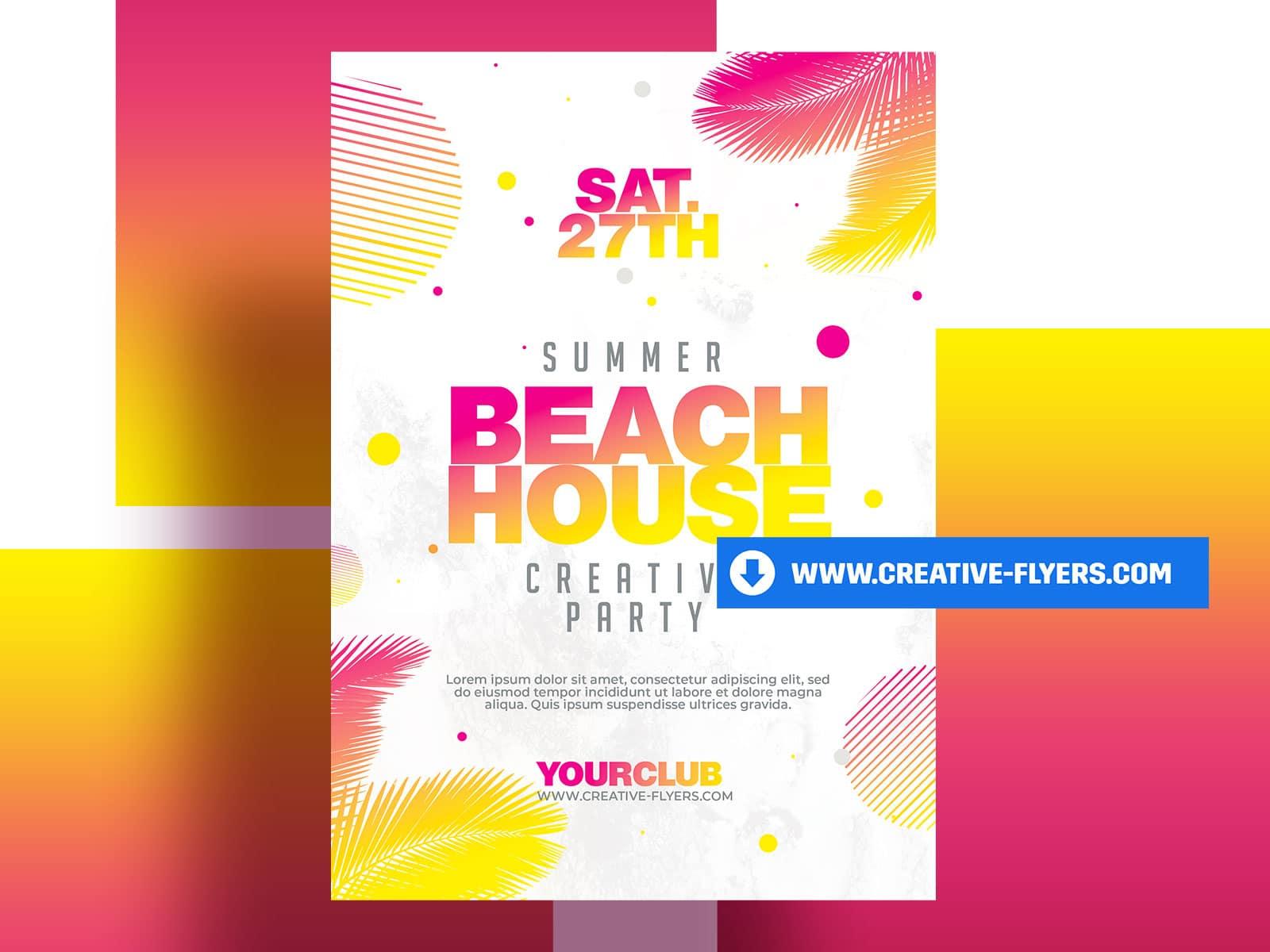 Summer Beach House Party