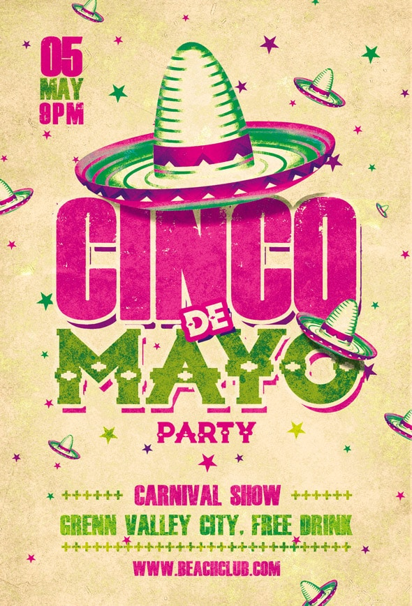 Cinco de Mayo Party Flyer