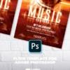 Futuristic Music Poster
