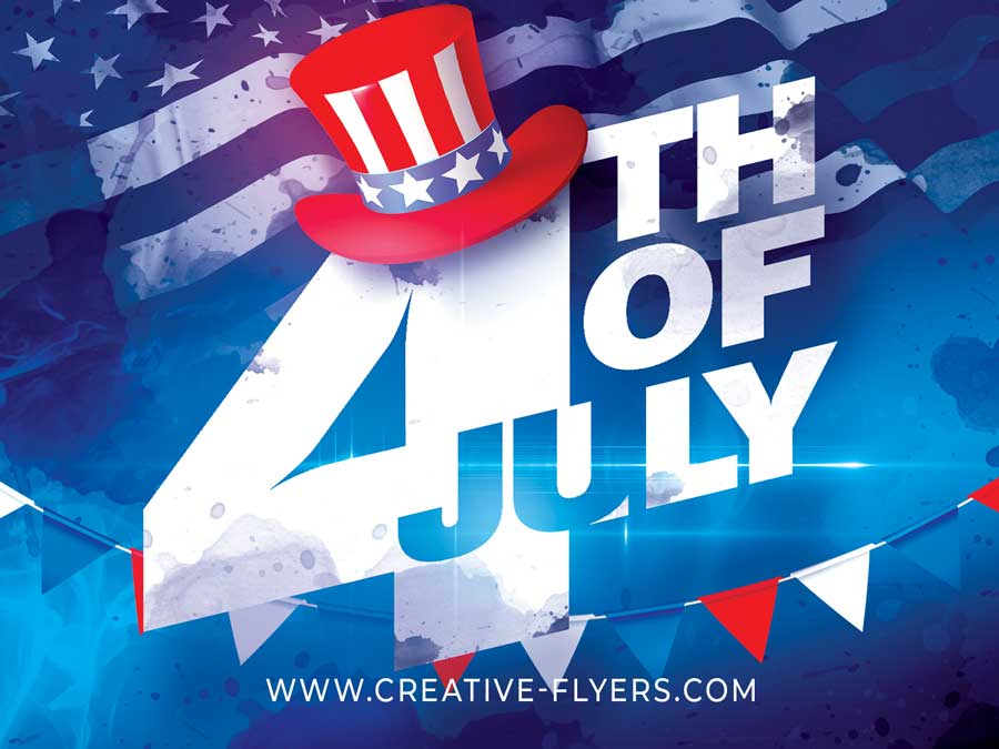 4th of July Templates