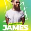 Guest DJ Event PSD Flyer