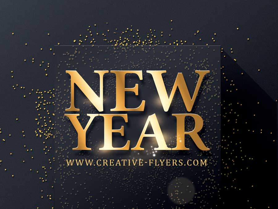 New year templates