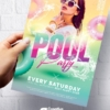 Pool Party Flyer PSD