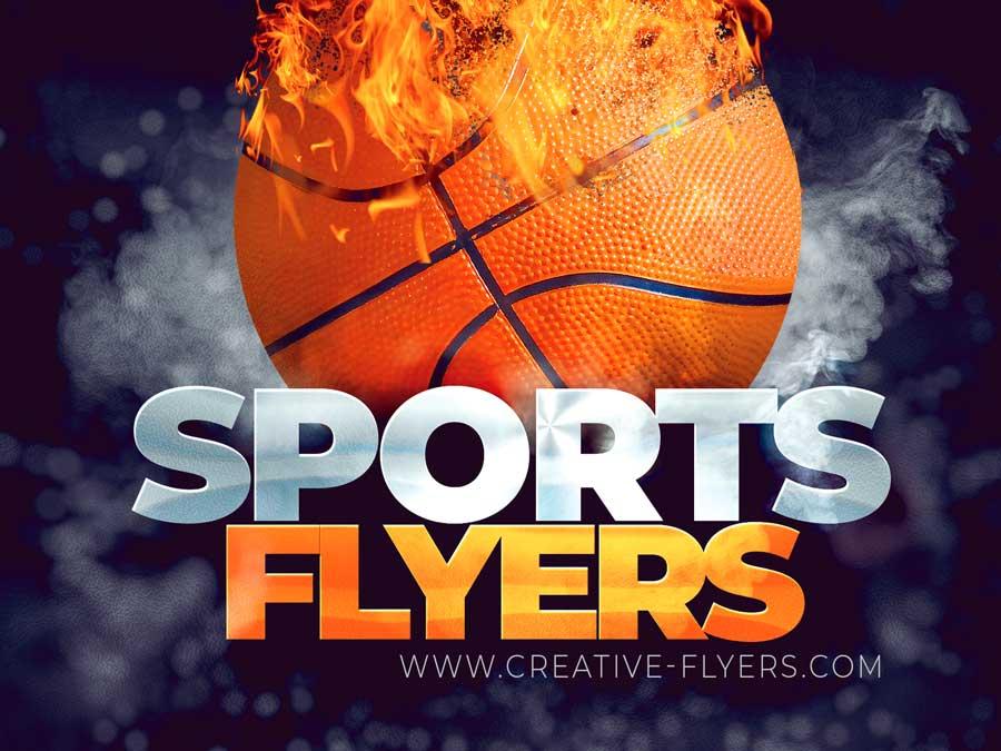 Sports flyer templates