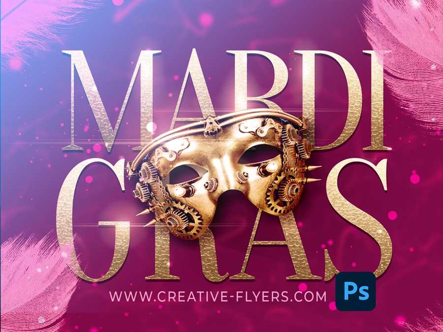 mardi Gras templates