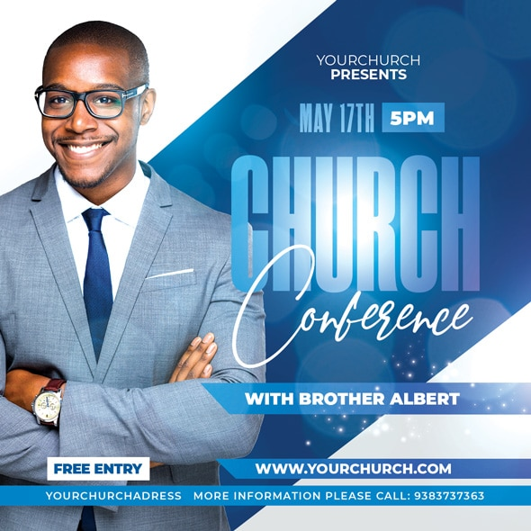 Church Conference Flyer Design