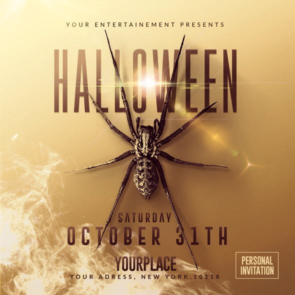 Classy Halloween Flyer