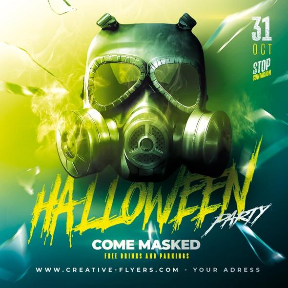 Halloween Party Graphic Design