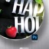Happy Hour Flyer Design