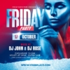 Nightclub Friday Party Flyer