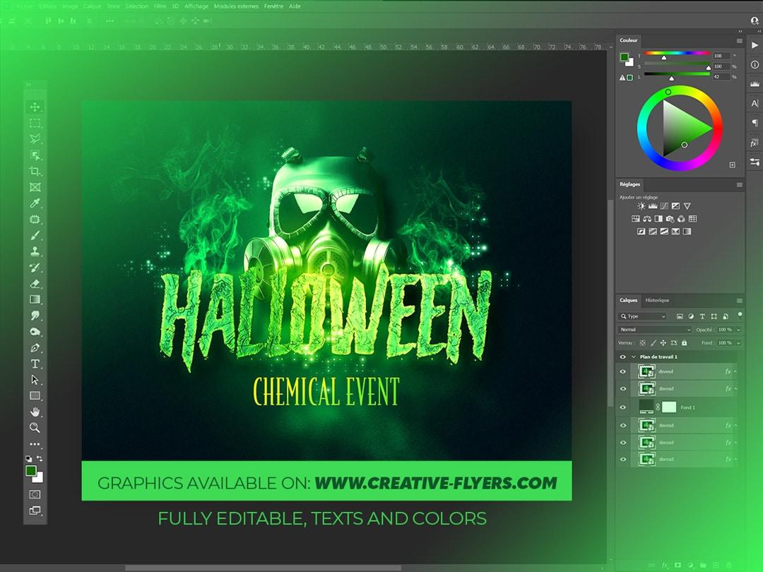 Halloween Graphic Design for Photoshop